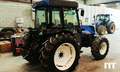 Tracteur agricole New Holland T4.110LP - 2