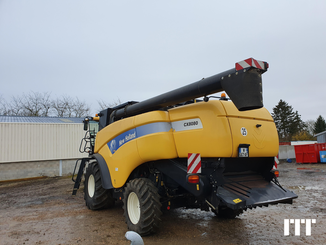 Moissonneuse batteuse New Holland 8080 - 2